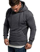 COOFANDY Men's Workout Hoodie Gym Sport Sweatshirt Athletic Pullover Casual Fashion Hooded With Pocket