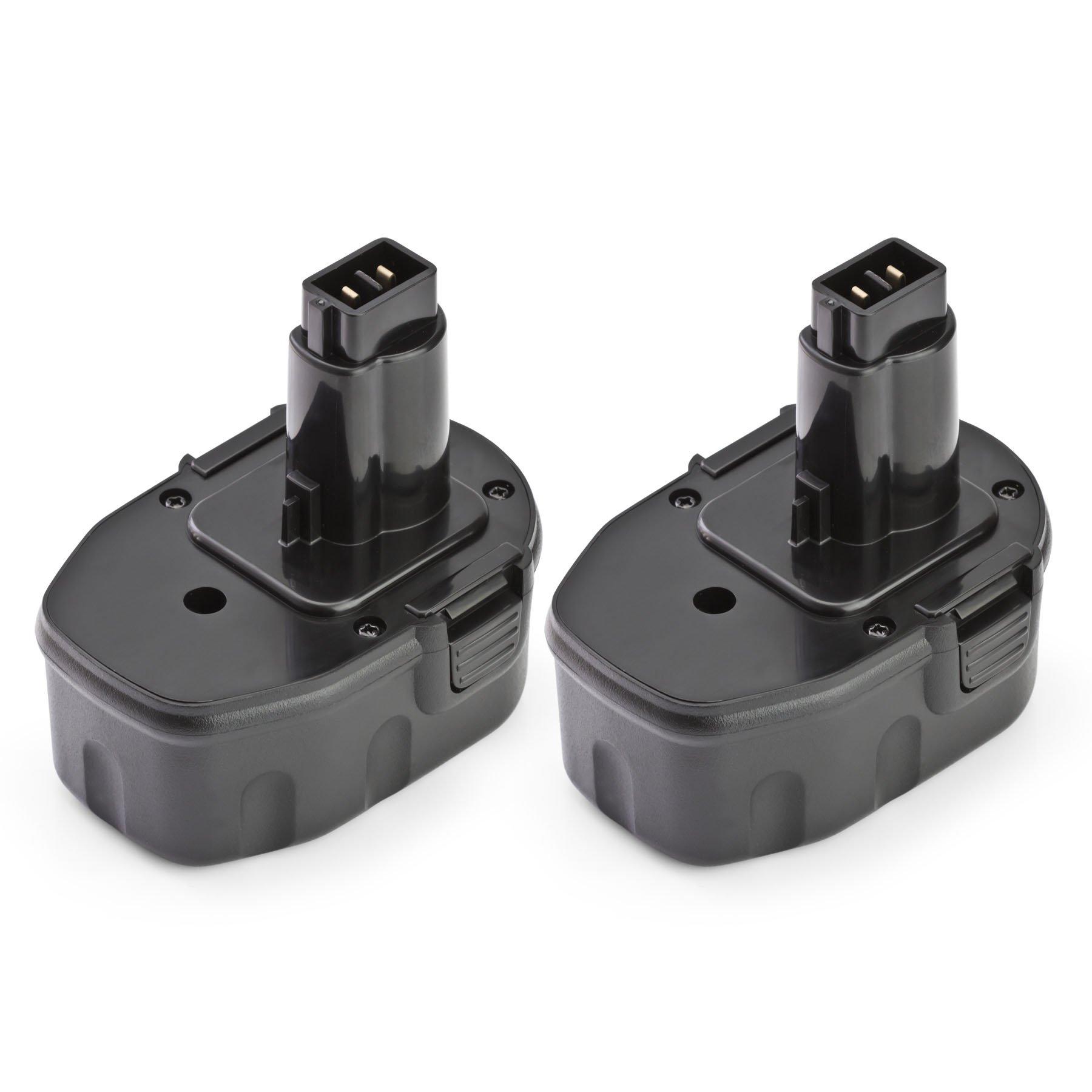 2 x ExpertPower 14.4v 3000mAh NiMh Replacement Extended Battery for Dewalt DW9094 DW9091 DC9091 DE9038 DE9091 DE9092 DE9094 DE9502