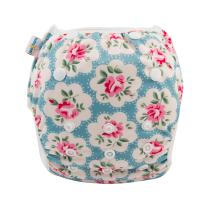 Babygoal Baby Girl Swim Diaper One Size Reusable Washable and Adjustable for Swimming fit 0-2 Years Babies (Peach Blossom) FSW09