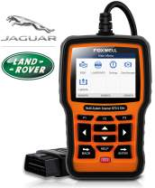 FOXWELL NT510 Elite Professional Automotive OBD2 Scanner for Land Rover and Jaguar Code Reader Full Systems Bi-Directional Diagnostic Scan Tool with HVAC ABS Airbag EPB Transmission Oil Light Reset