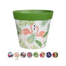 """Hum Flowerpots Plant Pot, Large Colorful planters Indoor/Outdoor pots 10"""" x 10"""""""