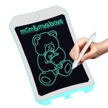 mom&myaboys 8.5 inch Electronic Drawing Pads for Kids, Portable Reusable Erasable Writer, Elder Message Board,4-8 Years Old Boys for Digital Handwriting Pad Doodle Board for School(Blue-9)
