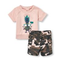The Children's Place Baby Boys Short Sets