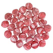 Needzo Fresh Spicy Cinnamon Balls Sanded with Sweet Sugar, Old Fashioned Hard Candies, Pack of 3, 6 Ounces