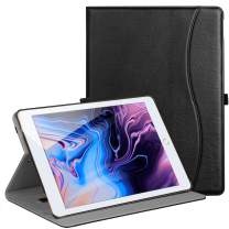 """Benazcap for iPad Air 10.5"""" (3rd Gen) 2019/iPad Pro 10.5"""" 2017, Premium Leather Business Slim Folding Stand Folio Cover for New iPad Tablet with Auto Wake/Sleep, Multiple Viewing Angles,Black"""