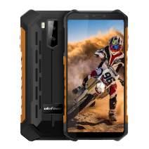 "Ulefone Armor X5 IP68 Waterproof Rugged Cell Phone Unlocked,Android 9.0 Outdoor Smartphone 5.5"" 18:9 FHD+,MT6763 3GB + 32GB,Dual 4G LTE Global Bands,GPS+GLONASS+NFC,5000mAh Battery,Shockproof(Yelloe)"