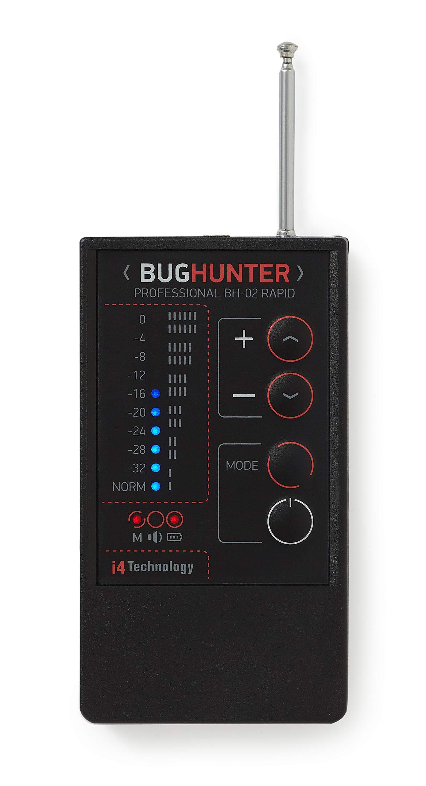 Anti Spy Bug Hidden Camera Microphone Detector Signal Detector Bug Hunter BH-02 Rapid