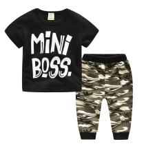 Baby Boys Outfits Set,Short Sleeve T-Shirt + Camouflage Shorts Summer Casual Wear