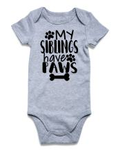 uideazone Baby Boys Girls Onesie Bodysuit Infant Funny Romper Jumpsuit Outfit 0-12 Month
