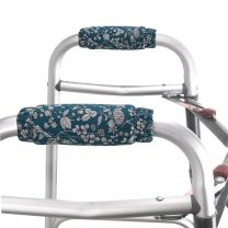 Walker Padded Hand Grip Covers Walker Hand Folding Rolling Walker Handle Washable One Size Multiple Colors (WH02)