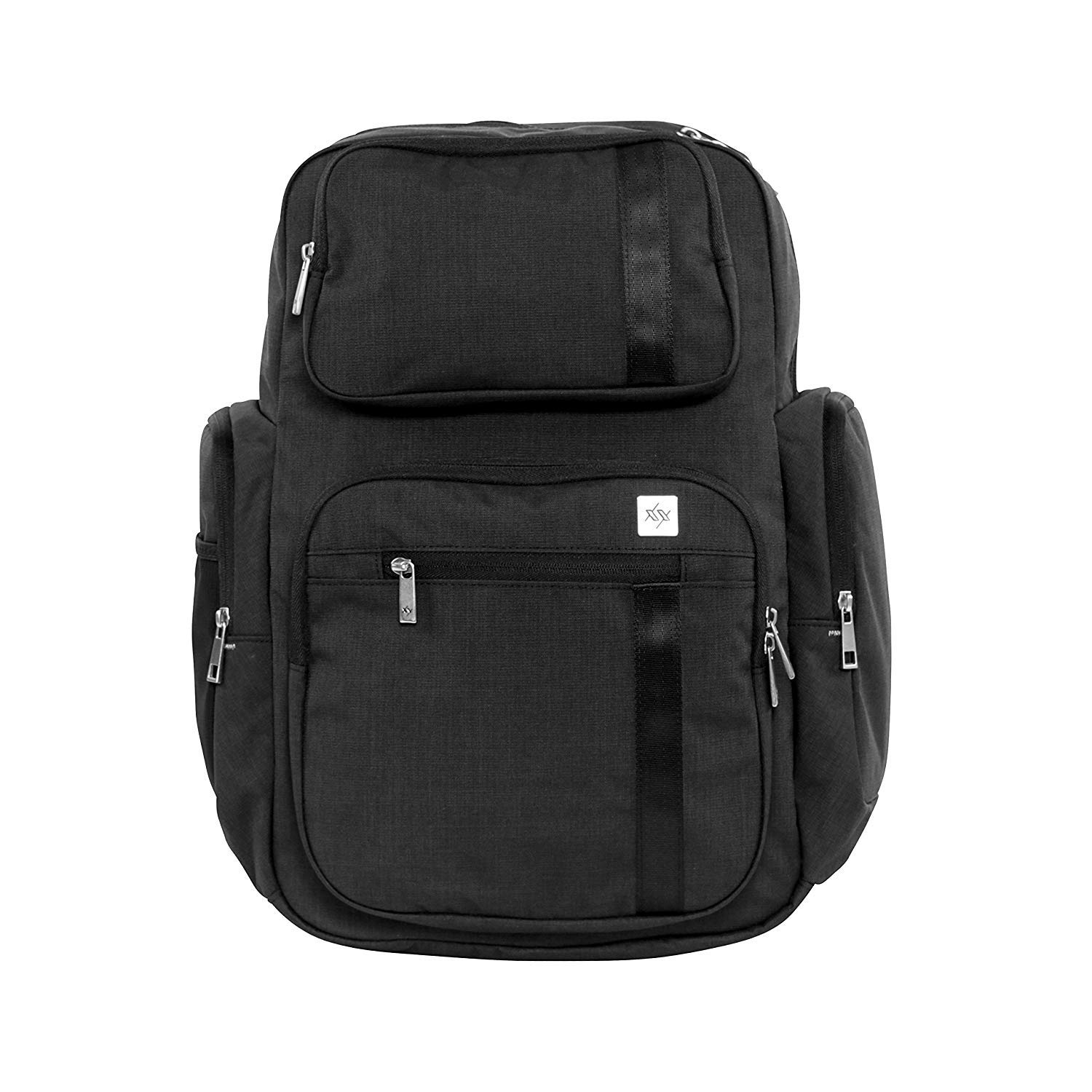 JuJuBe Vector Active Backpack/Diaper Dad Bag, XY Collection - Carbon