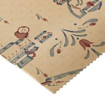 "Magic Cover Premium Adhesive Vinyl Contact Shelf Liner and Drawer Liner, 18""x9', Teatime"