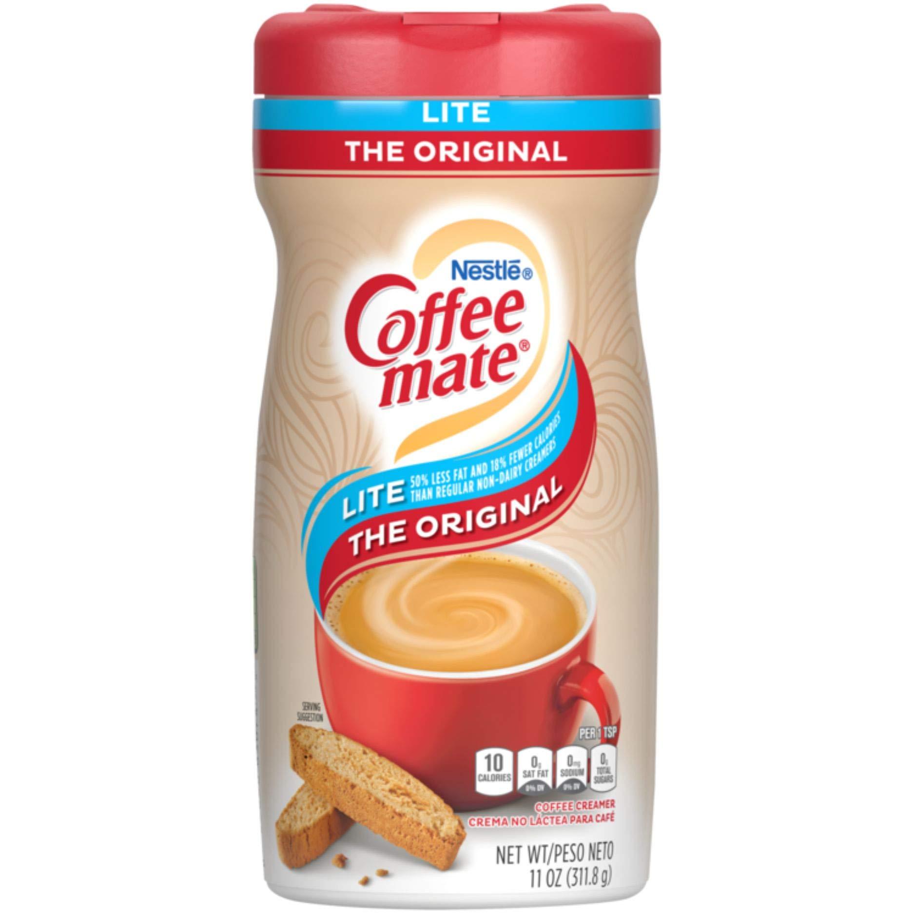 Nestle Coffee mate Coffee Creamer, Original Lite, Powder Creamer, 11 Ounces