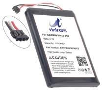 VINTRONS, KE37BE49D0DX3 Battery for Garmin Edge 800, Edge 810,