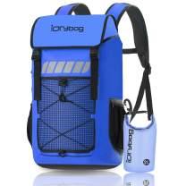 IDRYBAG Roll Top Waterproof Backpack Large 45L, Durable Laptop Backpack Waterproof Outdoor, Dry Bag Backpack Water Sports for Floating, Kayaking, Canoeing, Hiking, Camping, Boating, Rafting, Swimming