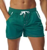 SILKWORLD Men's Mesh Short Athletic Shorts with Pockets