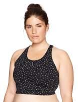 Amazon Brand - Core 10 Women's (XS-3X) Spectrum Longline Cross Back Sports Bra