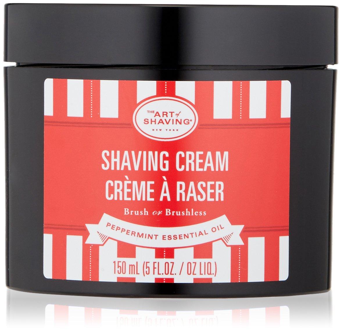 The Art of Shaving Shaving Cream, Peppermint, 5 Fl Oz