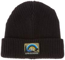 Life is Good Unisex Reversible Cold Weather Beanie Hat