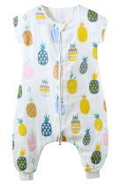 Baby Infant Wearable Blanket Spring Summer Sleeveless Sleeping Sack Split Legs