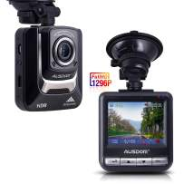 """Ausdom Dash Cam, Dashboard Camera Recorder with Full HD 1296P, 2.4"""" LCD, Wide Angle,Night Vision , G-Sensor, WDR, Loop Recording"""