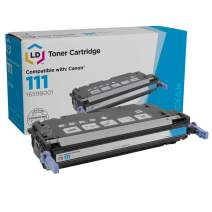 LD Remanufactured Toner Cartridge Replacement for Canon 111 1659B001 (Cyan)
