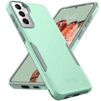NTG [1st Generation] Designed for Samsung S21 Case(Not for S21 Plus&S21 Ultra), Heavy-Duty Tough Rugged Lightweight Slim Shockproof Protective Case for Samsung Galaxy S21 6.2 Inch, Green