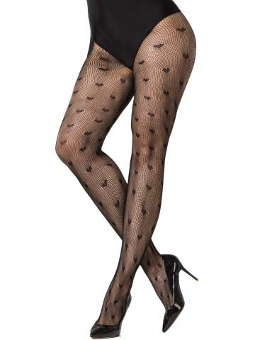 Lace Top Fishnet One Size Fits Most Womens Fence Net Thigh Highs With Lace Top