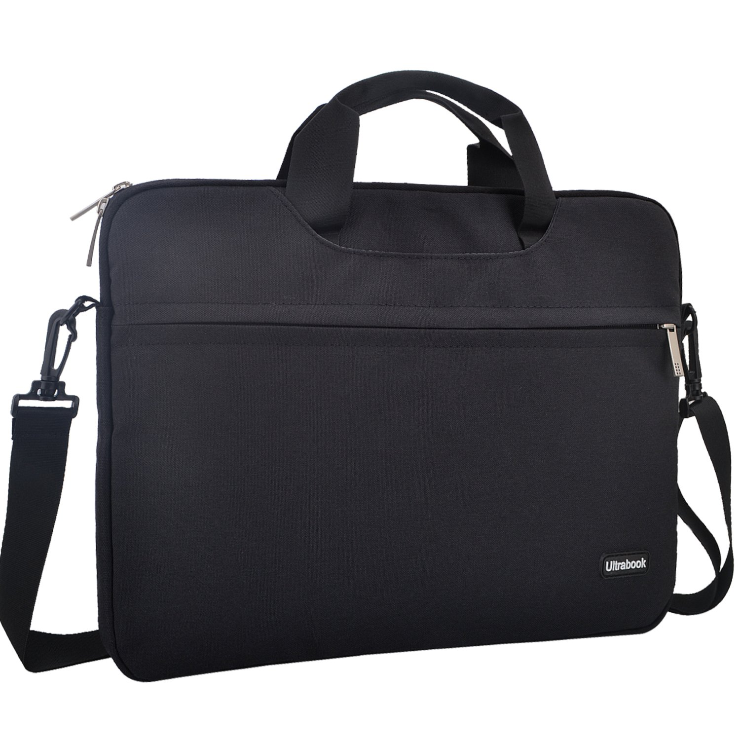 YOUPECK Ultra Thin 13.3 inch Laptop Shoulder Bag for MacBook Air 13 / IPad Pro 12.9/ Surface Book/Acer Lenovo ASUS 13 inch Tablet Sleeve Carrying Case Protective Bag, Black