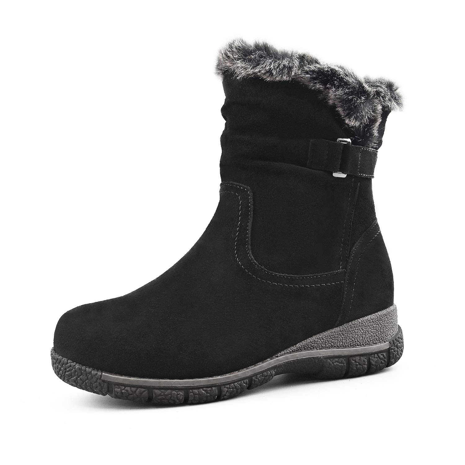 Comfy Moda Women's Wool-Lined Cold Weather Boots Berlin