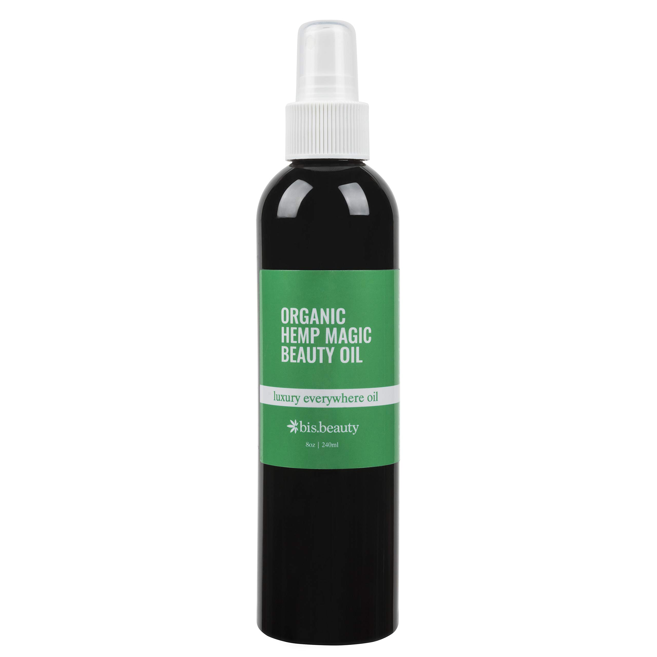 Ultimate Remedy for Dry Hands/Skin - Magic All-Purpose Skincare Oil-100% Organic Hemp Seed Oil