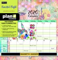 Wells Street by LANG WSBL Fanciful Flight 2020 Plan-It Plus (20997009164) Academic Wall Calendar (20997009164)