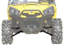 """SuperATV High Clearance 1.5"""" Forward Offset A-Arms for 2011-2020 Can-Am Commander 800/1000 / MAX (See Fitment) - Black"""