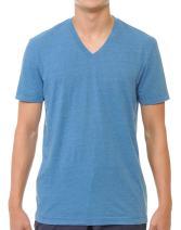 YURO-K Men's Short Sleeve V-Neck T-Shirt Premium Cotton Classic Short Sleeve V-Neck T-Shirt