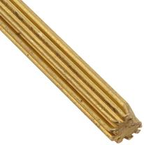 Boston Gear G40 Drawn Pinion Wire, 14.5 Degree Pressure Angle, Brass, Inch, 32 Pitch, 8 Teeth