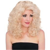 Rubie's Costume Deluxe Blond Curly Wig