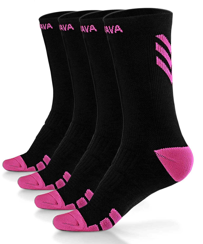 Dovava Dri-tech Compression Socks 15-20mmHg (2/3/4 Pairs) Athletic Fit Running Nurse Travel