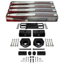 """Supreme Suspensions - Full Lift Kit for Toyota IFS Pickup 3"""" Front Lift Ball Joint Spacers + 2"""" Rear Lift Kit + Sway Bar & Differential Drop Kit + ProComp 3000 Series Shocks 4WD / 7"""" Axle Only"""