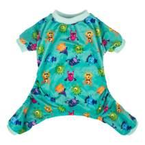 CuteBone Soft Puppy Pajamas Cute Dog Pjs Jumpsuit Pet Clothes Apparel