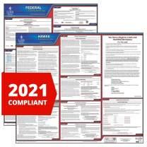 2021 Hawaii State and Federal Labor Law Poster Set (English, HI State) - OSHA Compliant Laminated Posters - J. J. Keller & Associates