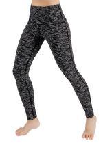 ODODOS Women's High Waisted Tummy Control Yoga Pants, Full-Length Leggings with Inner Pockets