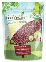 Organic Adzuki Beans, 8 Ounces – Non-GMO, Kosher, Dried, Bulk