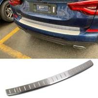 Beautost Fit for BMW New X3 Sport 2018 2019 2020 Rear Outside Bumper Sill Plate Guard Cover Trim Stainless