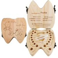 Baby Tooth Fairy Keepsake Box for Boys Gifts