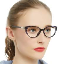 MARE AZZURO Progressive Anti Blue Light Reading Glasses Women Multifocus Readers 0 1.0 1.5 2.0 2.5 3.0 3.5 4.0