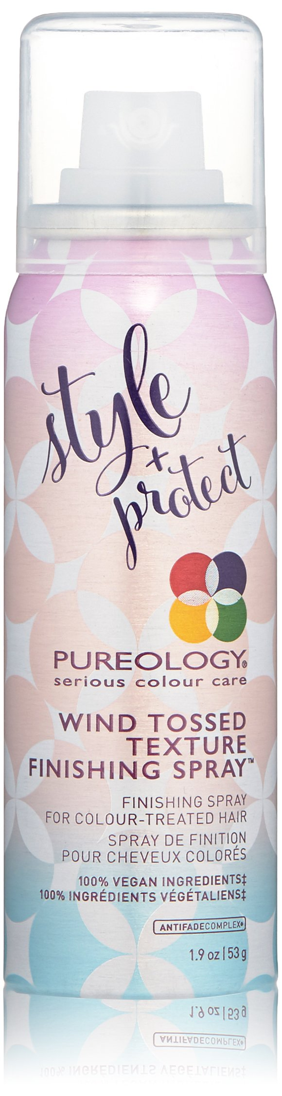 Pureology | Style + Protect Wind-Tossed Texture Finishing Spray | For Color-Treated Hair | Vegan