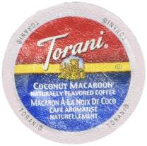 Torani Coconut Macaroon Flavored Coffee, Single Serve Cups for Keurig K Cups Brewer, 24 Count