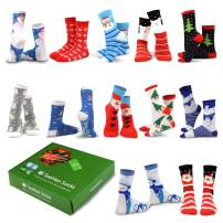 TeeHee Seasonal Holiday (Christmas) 12-Pair with Gift Box.