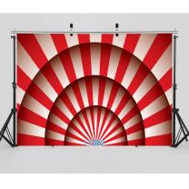 SJOLOON 7X5ft Circus Carnival Party Vinyl Photography Backdrop for Baby Kids Birthday Decoration Customized Photo Background Photo Studio Prop 11082
