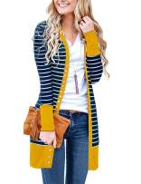 Basic Faith Women's S-3XL V-Neck Button Down Knitwear Long Sleeve Soft Knit Casual Cardigan Sweater